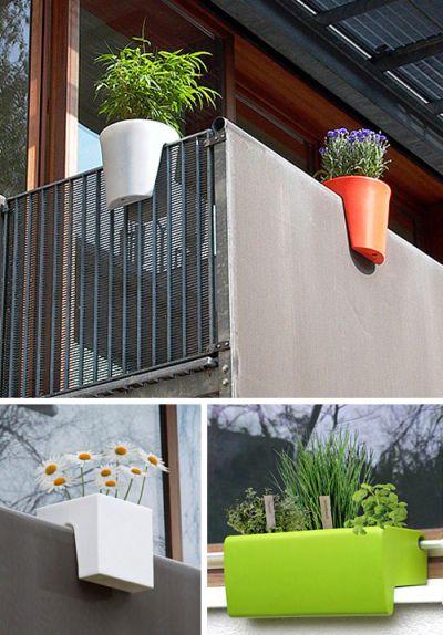 Macetas para todos los balcones friki girl for Jardineras para balcones
